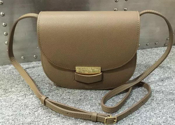 Celine Trotteur Bag Calfskin Leather C77425 Grey