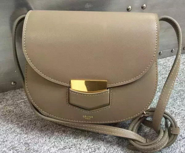 Celine Trotteur Bag Smooth Calfskin Leather C77425 Grey