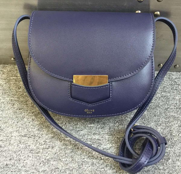 Celine Trotteur Bag Smooth Calfskin Leather C77425 Royal