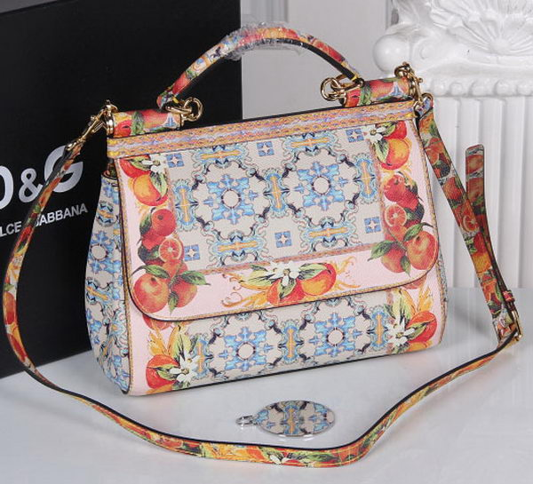 Dolce & Gabbana SICILY Bag Calfskin Leather DG4136I