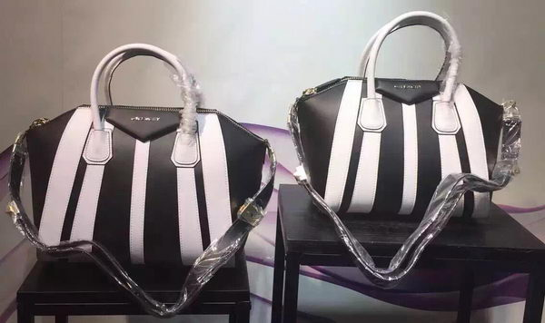 Givenchy Antigona Bag Calfskin Leather G33814 White&Black