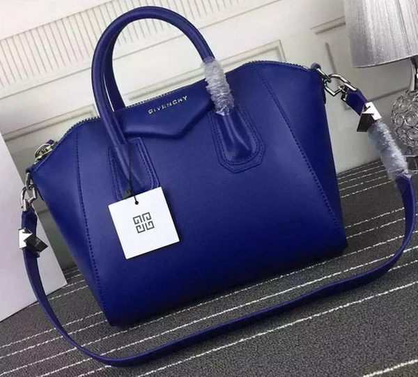 Givenchy Antigona Bag Calfskin Leather G66552 Blue