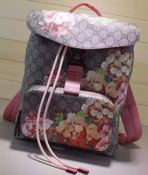 Gucci GG Blooms Backpack 405019 Pink