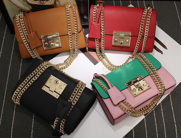 Gucci Padlock Leather Shoulder Bags 409487