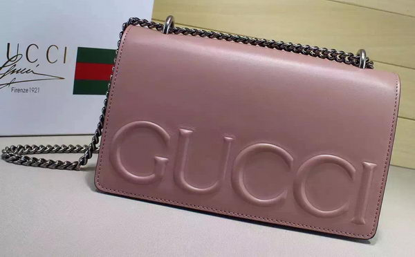 Gucci XL Calfskin Leather mini Bag 421850 Apricot