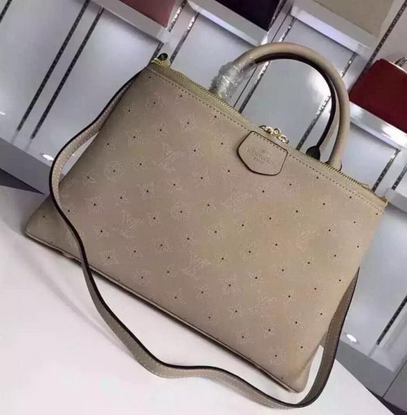 Louis Vuitton Calfskin Leather BROMPTON Bag M41582 Grey