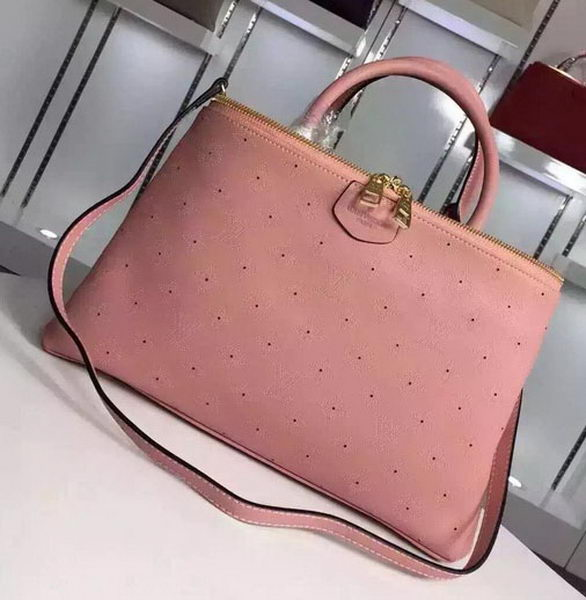 Louis Vuitton Calfskin Leather BROMPTON Bag M41582 Pink