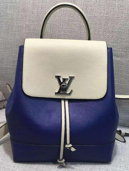 Louis Vuitton LOCKME BACKPACK M41817 Blue