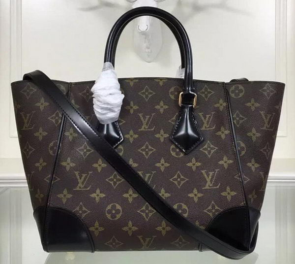 Louis Vuitton Monogram Canvas PHENIX PM M41537 Black