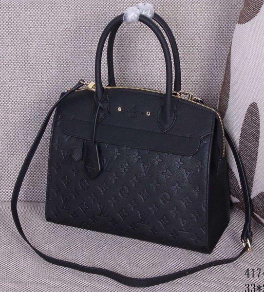 Louis Vuitton Monogram Empreinte PONT-NEUF MM M41748 Black