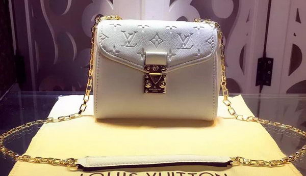 Louis Vuitton Monogram Empreinte SAINT-GERMAIN BB M94552 White