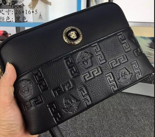 Versace Clutch Bags V9903 Black