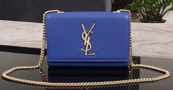 Yves Saint Laurent Monogramme Cross-body Shoulder Bag 1311228 Blue
