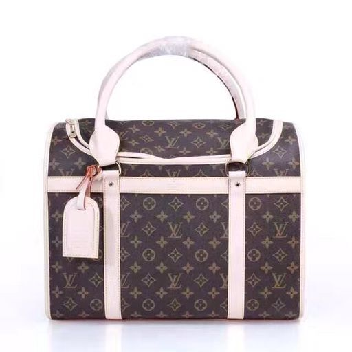 Louis Vuitton Monogram Canvas Dog Bag 40 M42022