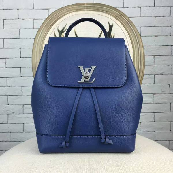Louis Vuitton LOCKME BACKPACK 41817 Blue