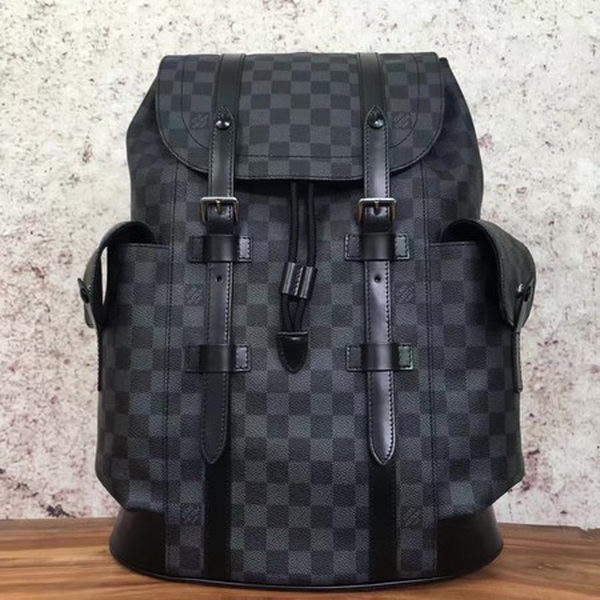 Louis Vuitton Damier Graphite Canvas CHRISTOPHER PM N41379
