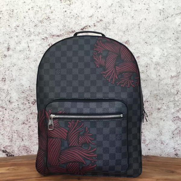 Louis Vuitton Damier Graphite Canvas JOSH N41712 Red