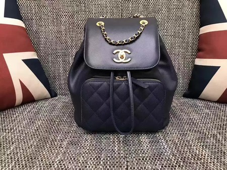 Chanel Original Leather Backpack CHA2590 Black