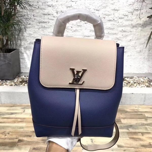 Louis Vuitton 2018 Spring-Summer LOCKME BACKPACK M41815 Blue