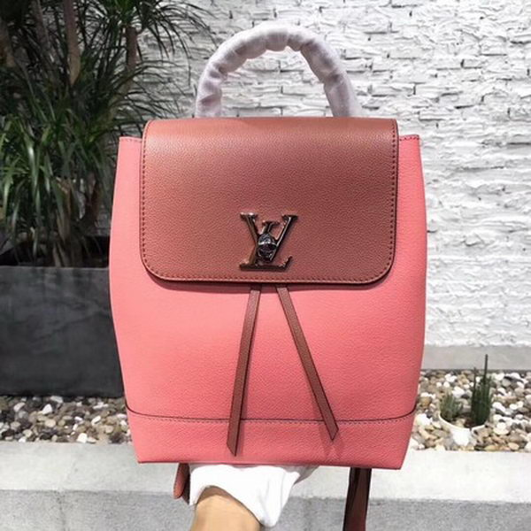 Louis Vuitton 2018 Spring-Summer LOCKME BACKPACK M41815 Pink