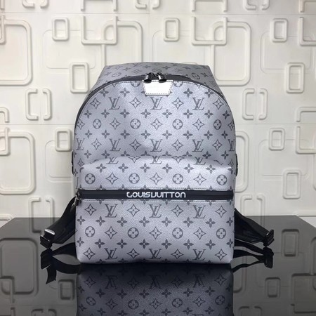 Louis Vuitton Monogram Canvas Backpack M43849 Silver