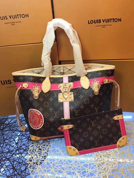 Louis vuitton monogram canvas NEVERFULL M41390