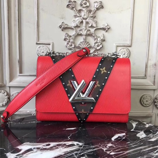 Louis vuitton original Twist Epi Leather 50282 red