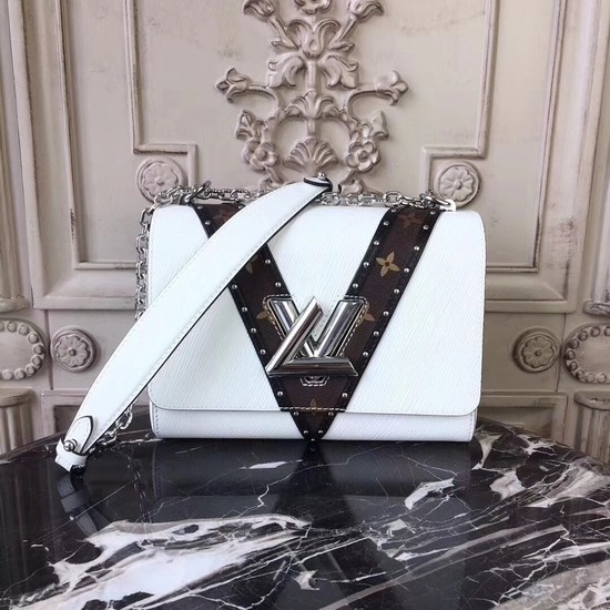 Louis vuitton original Twist Epi Leather 50282 white