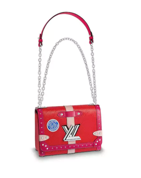 Louis vuitton original TWIST MM M54281 red