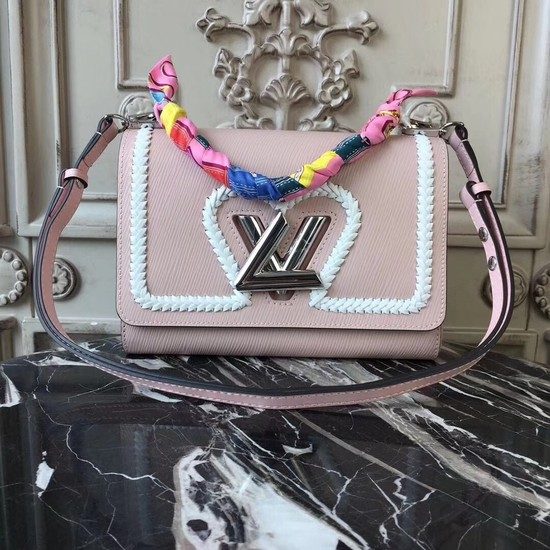 Louis vuitton original TWIST MM M53126 pink