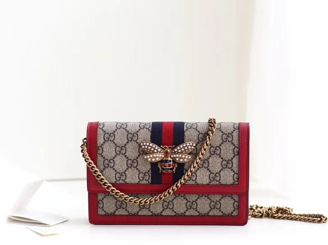 Gucci Queen Margaret GG mini bag 476079 red