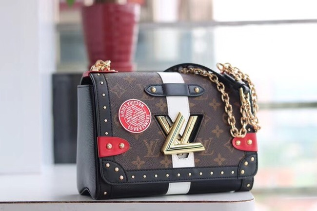 Louis Vuitton TWIST MM M50296 black