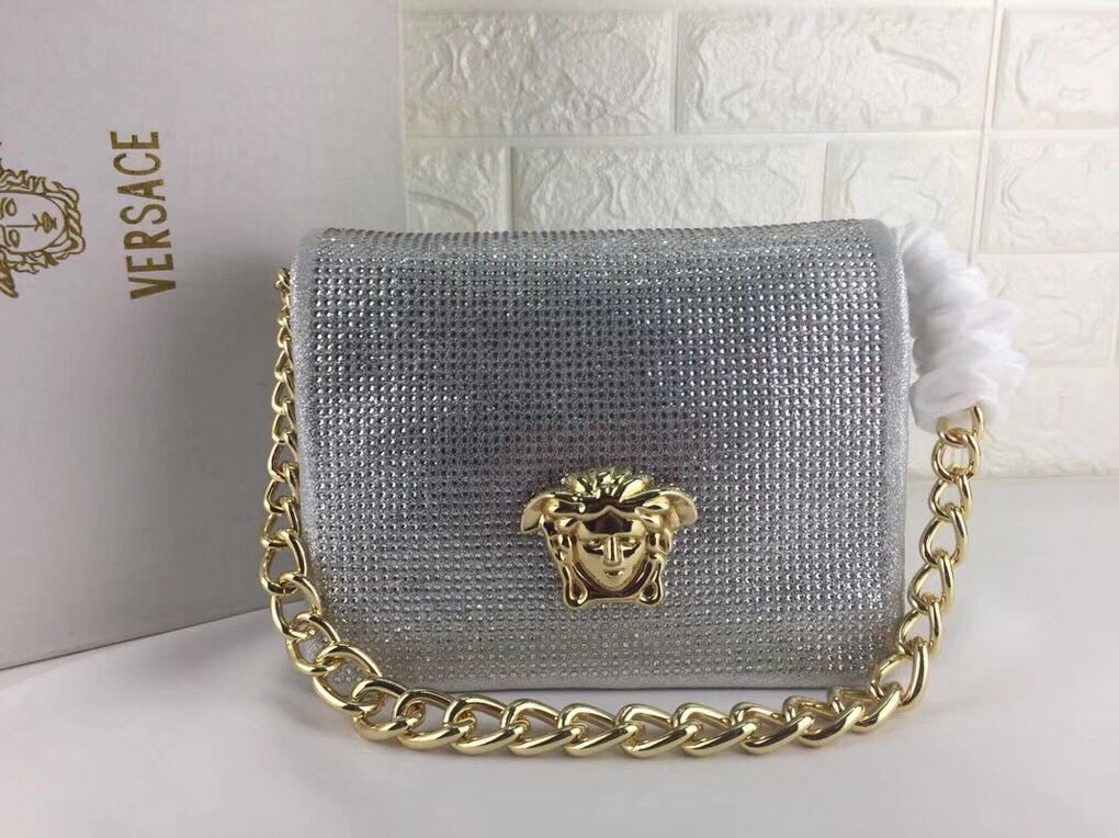 Versace Shoulder Bag VS178 Sliver