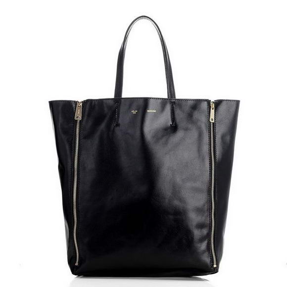Celine Cabas Medium Shopping Bags Black