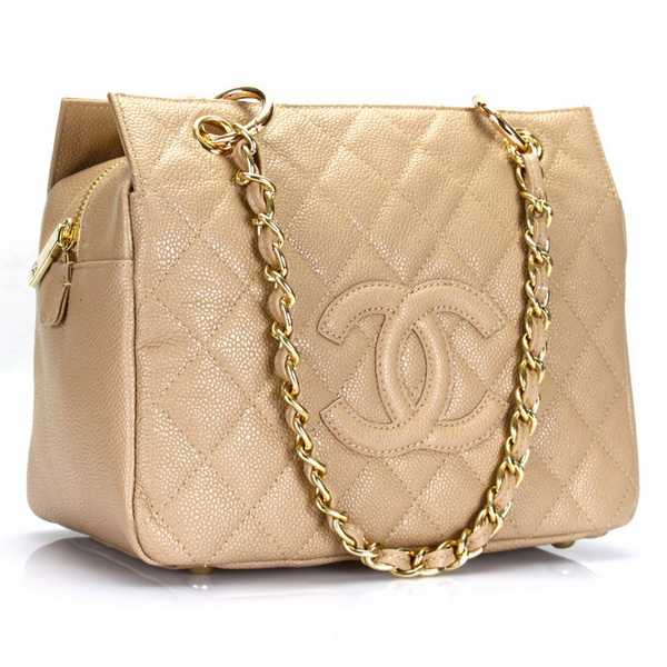 Chanel Coco Cocoon Original Leather Bag A18004 Apricot