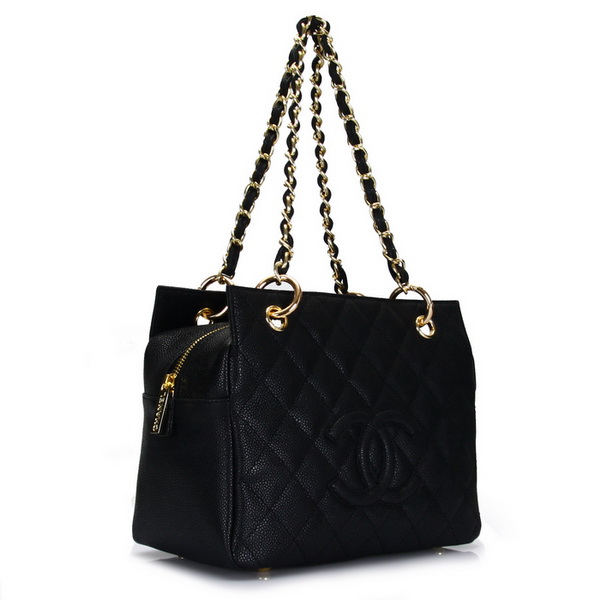 Chanel Coco Cocoon Bag A18004 Black