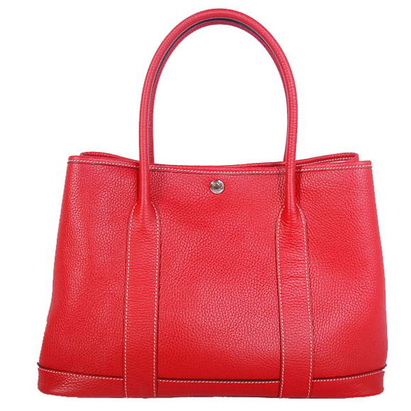 Hermes Garden Party 36CM Bag Clemence Red