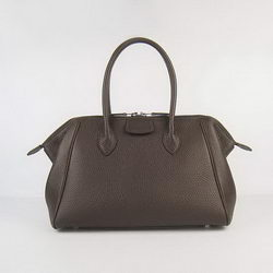 Hermes Paris Bombay Bag Dark Coffee