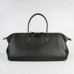 Hermes Jumbo Paris Bombay Bag Black