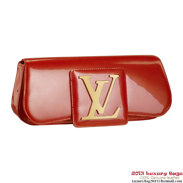 Louis Vuitton M93727 Sobe Clutch Orange Sunset