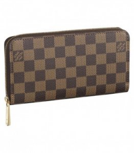 Louis Vuitton Wallets Damier Canvas Zippy N60015