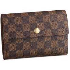 Louis Vuitton Wallets Damier Canvas Alexandra N63067