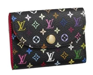 Louis Vuitton Wallets Monogram Multicolore Business Card Holder M66561