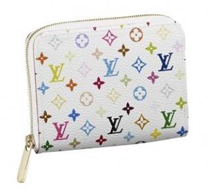 Louis Vuitton Monogram Multicolore Zippy Coin Purse M93741