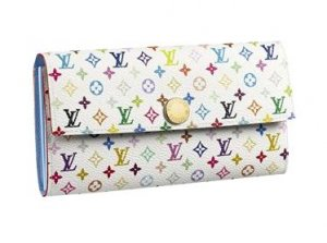 Louis Vuitton Monogram Multicolore Sarah Wallet M93742