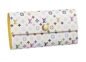 Louis Vuitton Monogram Multicolore Sarah Wallet M93743