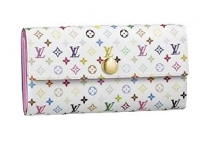 Louis Vuitton Monogram Multicolore Sarah Wallet M93744
