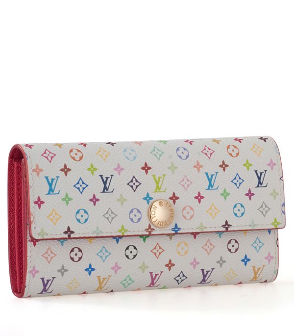 Louis Vuitton Monogram Multicolore Sarah Wallet M93745