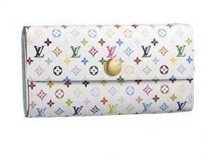 Louis Vuitton Monogram Multicolore Sarah Wallet M93746