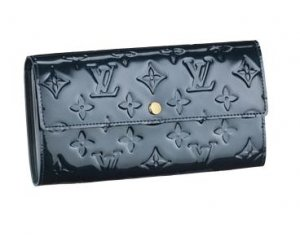 Louis Vuitton Monogram Vernis Sarah Wallet M93667